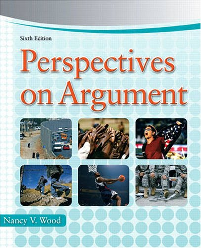 Perspectives on Argument  6th 2009 edition cover