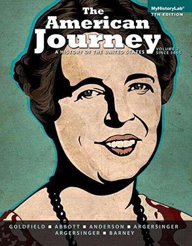 American Journey A History of United States 7th 2014 edition cover