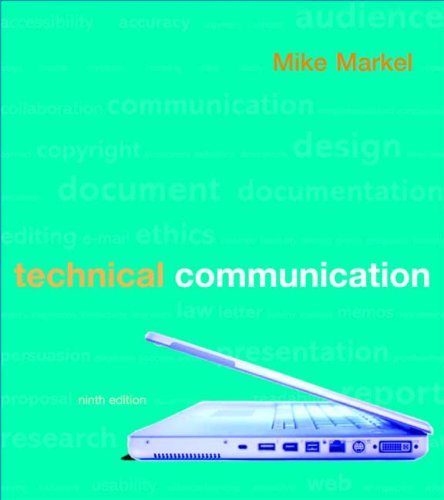 Technical Communication  9th 2009 edition cover