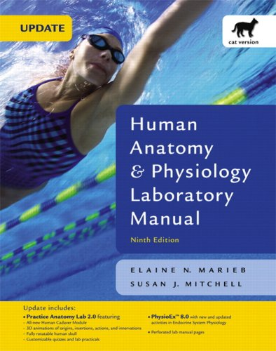Human Anatomy and Physiology Laboratory Manual  9th 2009 (Revised) edition cover