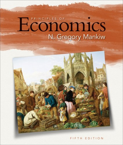 Principles of Economics  5th 2009 edition cover