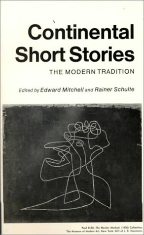 Continental Short Stories 1st edition cover