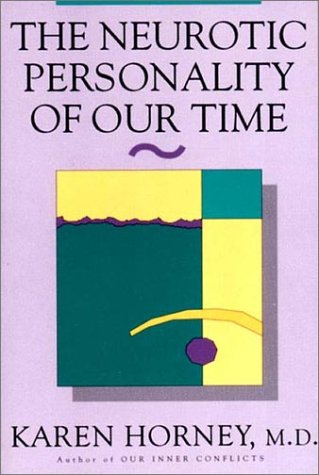 Neurotic Personality of Our Time   1937 edition cover