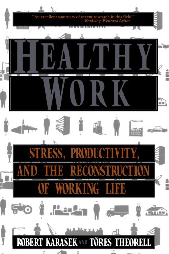Healthy Work Stress, Productivity, and the Reconstruction of Working Life  1999 edition cover