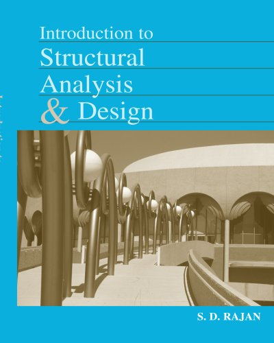 Introduction to Structural Analysis and Design   2001 edition cover