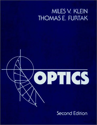 Optics  2nd 1986 (Revised) edition cover