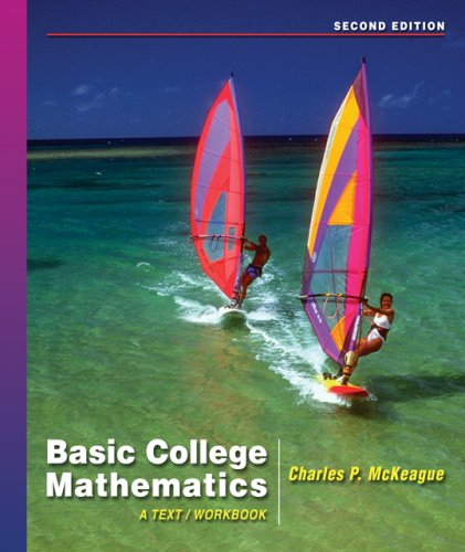Basic College Mathematics  2nd 2007 (Workbook) 9780495108979 Front Cover