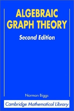 Algebraic Graph Theory  2nd (Revised) 9780521458979 Front Cover