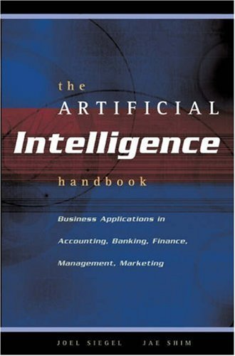 Artificial Intelligence Handbook Business Applications  2003 9780538726979 Front Cover
