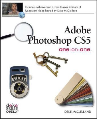 Adobe Photoshop CS5 One-On-One   2010 edition cover
