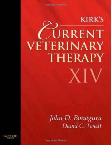 Current Veterinary Therapy  14th 2008 (Revised) edition cover