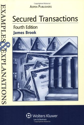 Secured Transactions  4th 2008 (Student Manual, Study Guide, etc.) edition cover