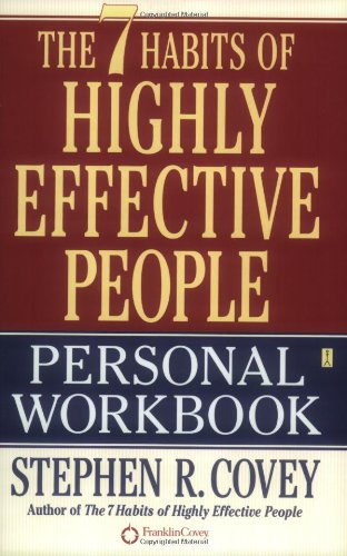 7 Habits of Highly Effective People   2004 (Workbook) 9780743250979 Front Cover