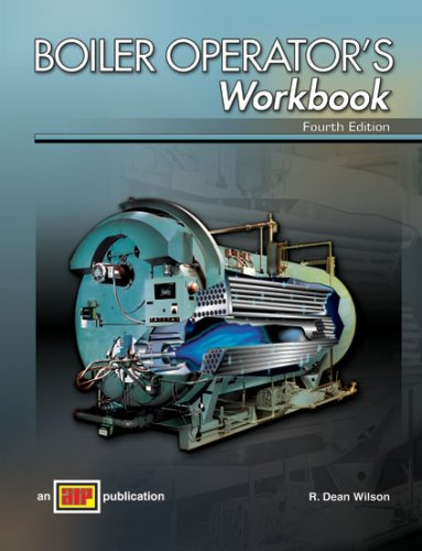 Boiler Operator's Workbook  4th 2008 edition cover