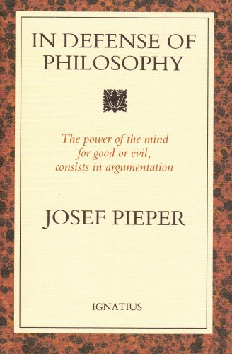 In Defense of Philosophy N/A edition cover