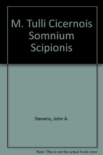 M. Tulli Cicernois Somnium Scipionis   2002 edition cover