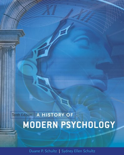 History of Modern Psychology  10th 2012 edition cover