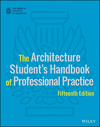 Architecture Student's Handbook of Professional Practice  15th 2016 9781118738979 Front Cover