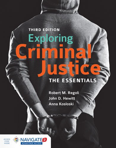 Exploring Criminal Justice  3rd 2018 (Revised) 9781284112979 Front Cover