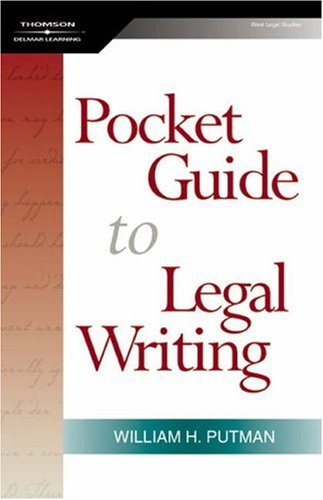 Pocket Guide to Legal Writing   2006 edition cover