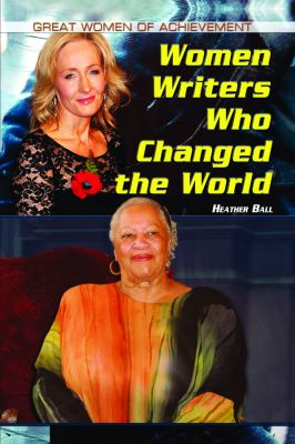 Women Writers Who Changed the World   2012 edition cover