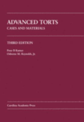 Advanced Torts Cases and Materials 3rd 2007 edition cover