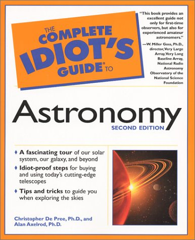 Complete Idiot's Guide to Astronomy  2nd 2001 edition cover