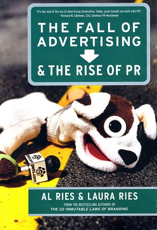 Fall of Advertis and Rise of PR   2002 edition cover