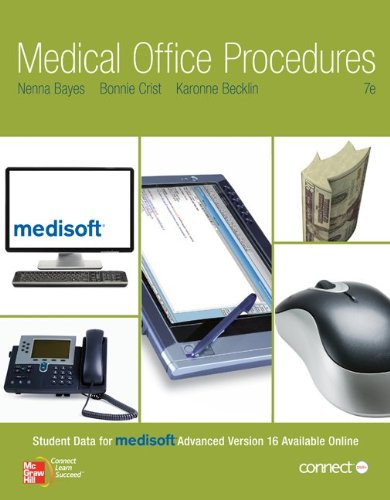 Medical Office Procedures  7th 2012 9780073401980 Front Cover