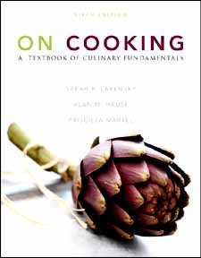 On Cooking A Textbook of Culinary Fundamentals 5th 2011 9780132111980 Front Cover