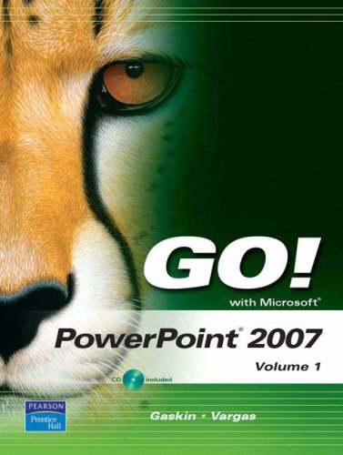 Microsoft PowerPoint 2007   2008 9780132447980 Front Cover