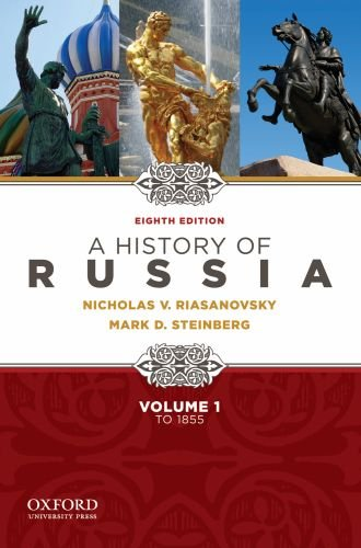 History of Russia - To 1855  8th 2010 edition cover