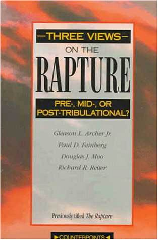 Three Views on the Rapture   1996 (Revised) edition cover