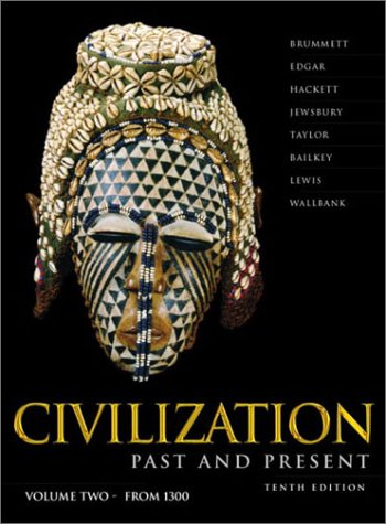 Civilization Past and Present  10th 2003 edition cover