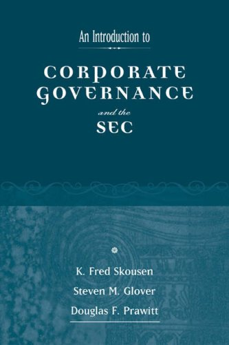 Introduction to the SEC and Corporate Governance   2005 edition cover