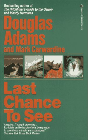 Last Chance to See   1990 edition cover