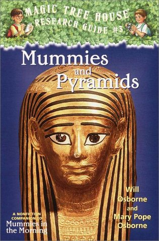 Mummies and Pyramids   2001 edition cover