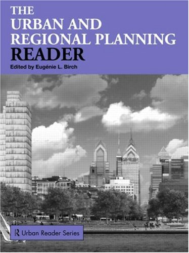 Urban and Regional Planning Reader   2009 edition cover