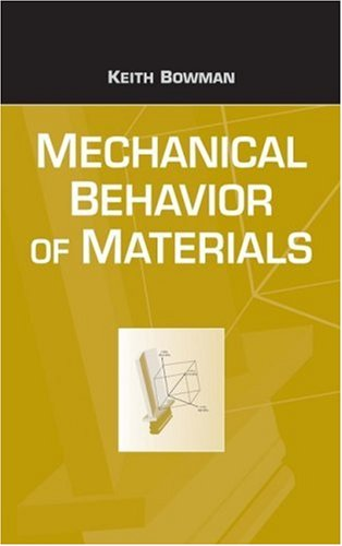 Mechanical Behavior of Materials   2004 edition cover