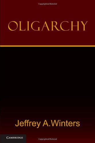 Oligarchy   2011 9780521182980 Front Cover