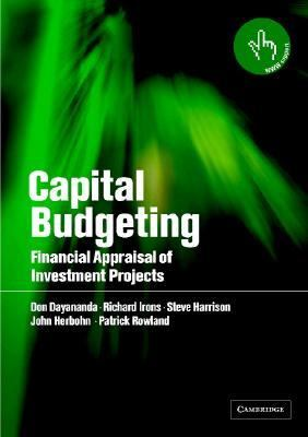Capital Budgeting Financial Appraisal of Investment Projects  2002 edition cover