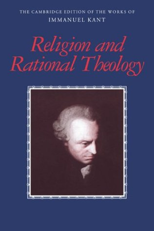 Religion and Rational Theology   2001 edition cover