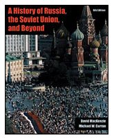 History of Russia, the Soviet Union, and Beyond  6th 2002 (Revised) 9780534586980 Front Cover