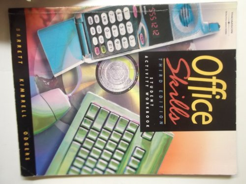 Office Skills  3rd 2003 9780538434980 Front Cover