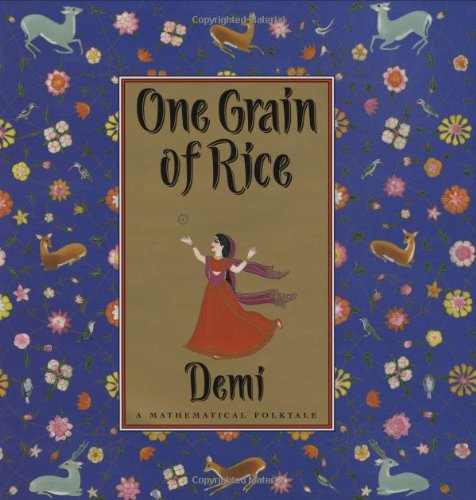 One Grain of Rice A Mathematical Folktale N/A edition cover