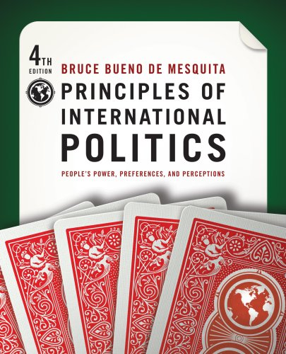 Principles of International Politics  4th 2009 (Revised) edition cover