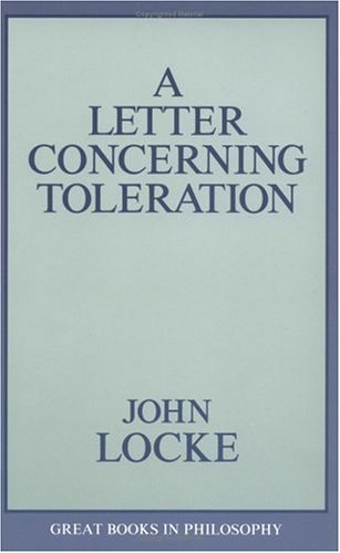 Letter Concerning Toleration  Unabridged  edition cover