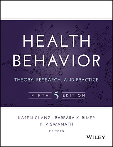 Health Behavior Theory, Research, and Practice 5th 2015 9781118628980 Front Cover