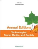 Technologies, Social Media, and Society  20th 2015 edition cover