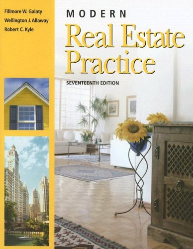 Modern Real Estate Practice 17th 2006 (Revised) edition cover